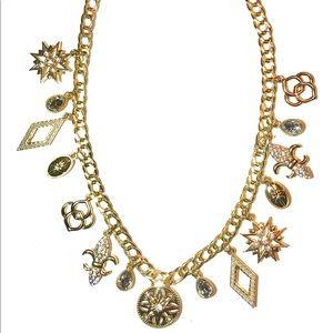Fleur de Lis necklace by Charter Club, gold tone